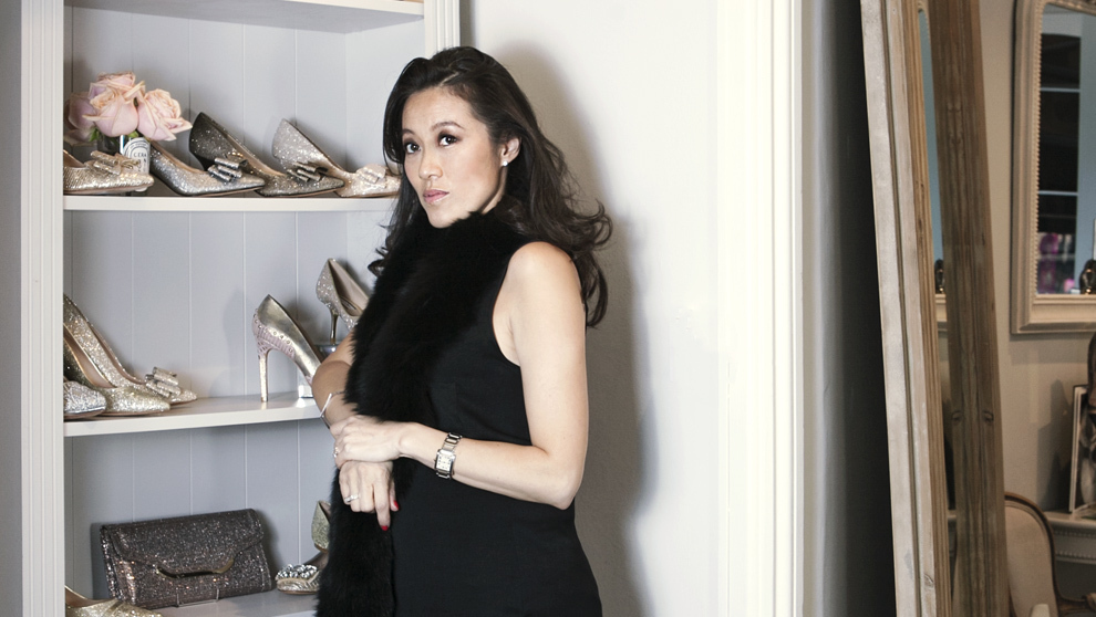 Lucy Choi, 41 años, fotografiada en su tienda del barrio de...
