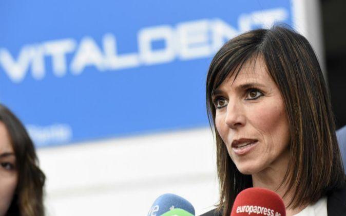 La portavoz de la empresa Vitaldent, Ana Caspistegui.