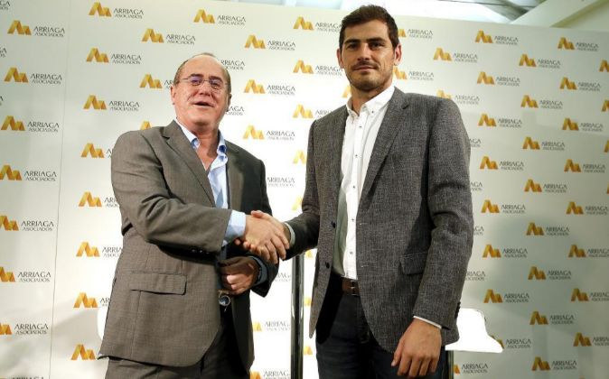 Presentación de patrocinio de Iker Casillas con Arriaga Asociados.
