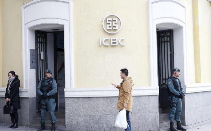 REGISTRO DE LA SEDE DEL BANCO CHINO ICBC EN EL PASEO DE RECOLETOS 12...