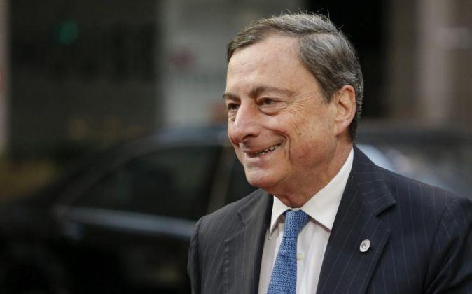 El presidente del BCE, Mario Draghi