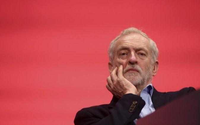 El líder del Partido Laborista británico Jeremy Corbyn.