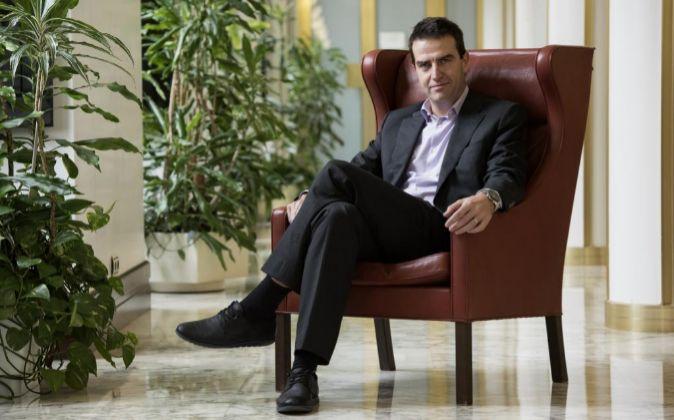 El coordinador de la gestora de UPyD Gorka Maneiro.