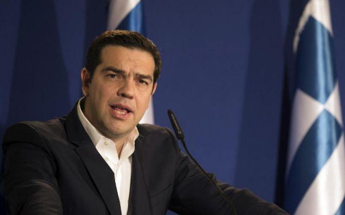El primer ministro de Grecia Alexis Tsipras.