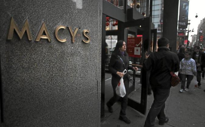 Un establecimiento de Macy's en Nueva York.