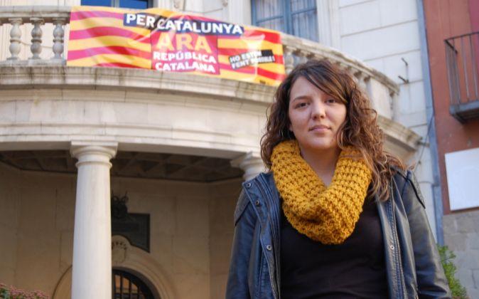 Montserrat Venturós, alcaldesa de Berga (Barcelona)