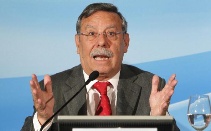José Folgado Blanco, presidente de Red Eléctrica durante la última...