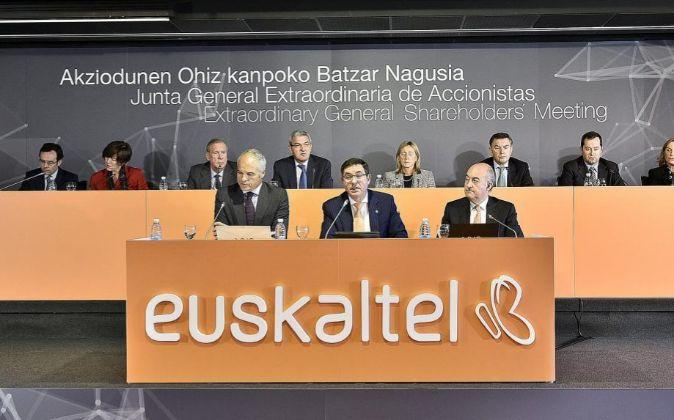 Junta General Extraordinaria de Accionistas de Euskaltel