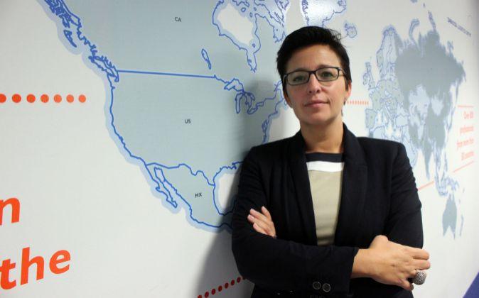 María Jesús Sáenz, directora del Zaragoza Logistics Center.