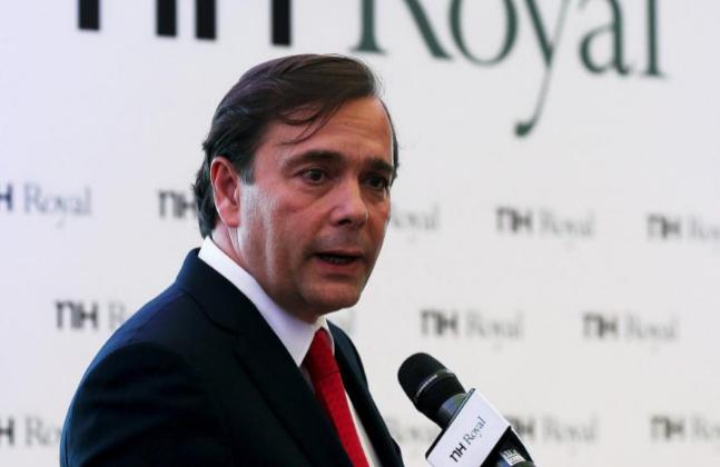 Federico Gonzalez Tejera, CEO de la cadena española NH Hotel Group.