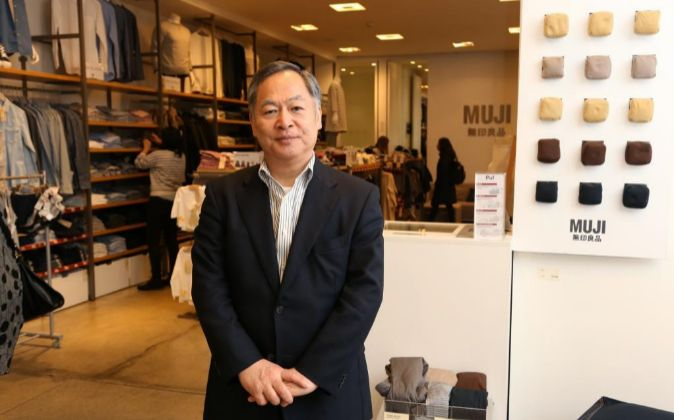 Satoru Matsuzaki, presidente de Muji.