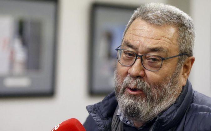 El secretario general de UGT Cándido Méndez.