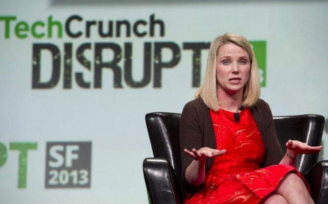 Marissa Mayer, presidenta y consejera delegado de Yahoo