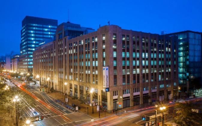 Cuartel general de Twitter en San Francisco.
