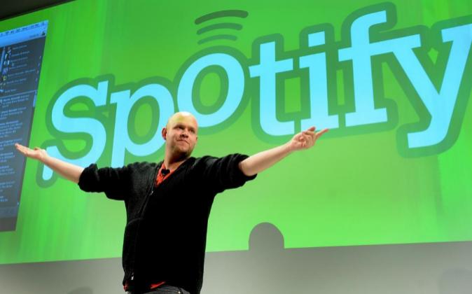 Daniel Ek, CEO y fundador de Spotify.