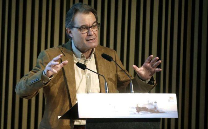 El presidente de CDC Artur Mas.