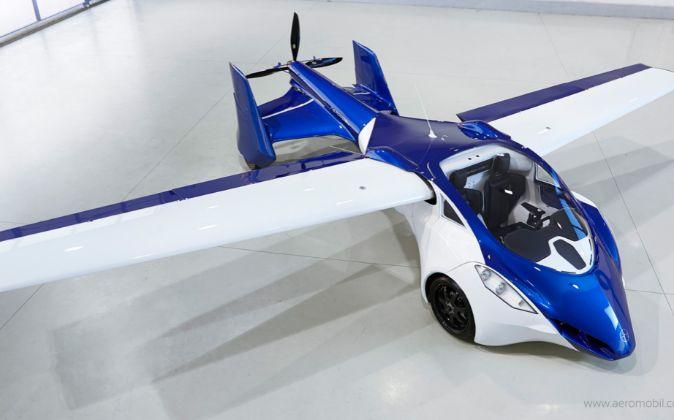 Prototipo de AeroMobil.