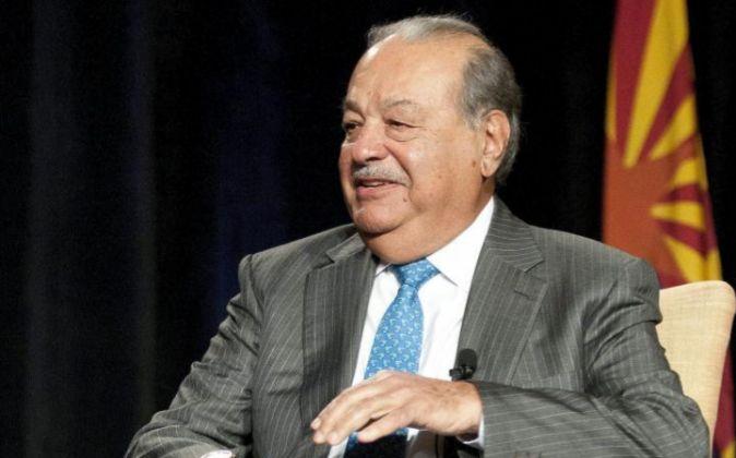 El magnate mexicano Carlos Slim.