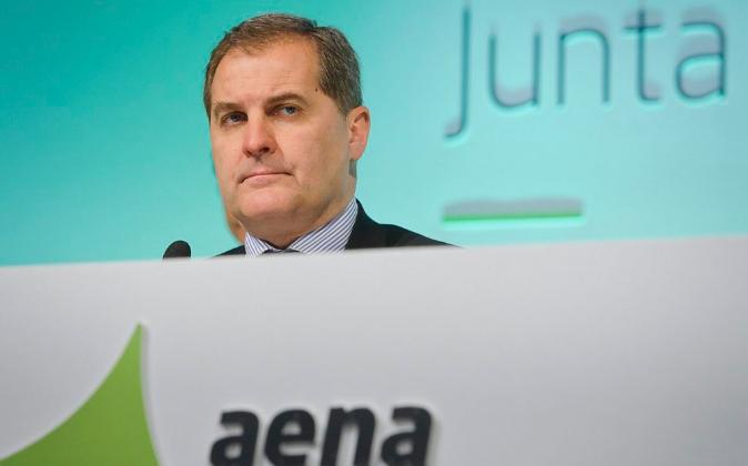 El presidente de Aena, José Manuel Vargas.