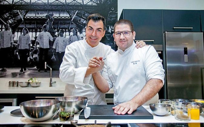 Los dos estrella Michelin, Dani García y Ramón Freixa firman dos...