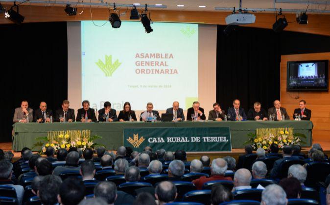 Caja Rural de Teruel presenta los resultados del pasado ejercicio.