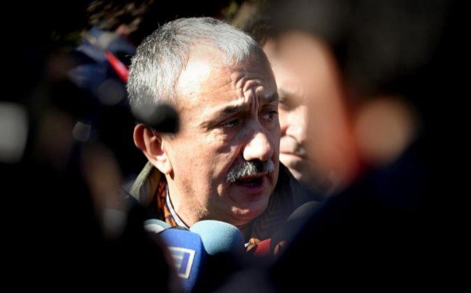 El nuevo secretario general de UGT Josep María Álvarez.