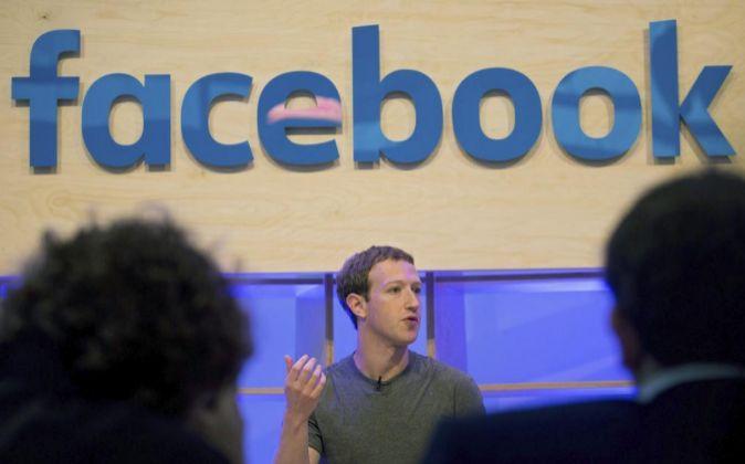 El creador de Facebook Mark Zuckerberg.