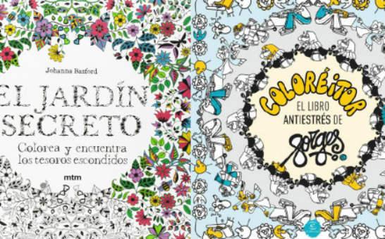 Colorear y rellenar dibujos, la terapia anti-estrés que arrasa