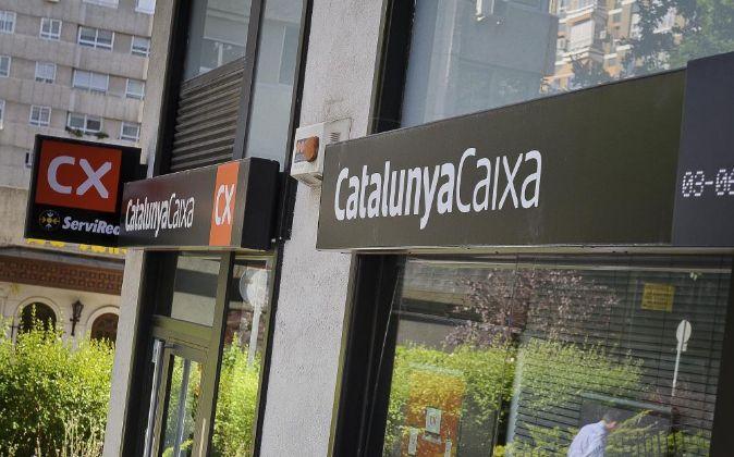 Sucursal de CatalunyaCaixa.