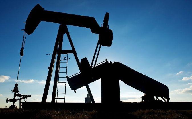 Refinería petrolífera.