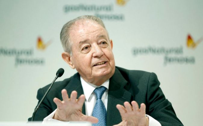 El presidente de Gas Natural Fenosa, Salvador Gabarró