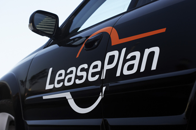 un vehículo de LeasePlan