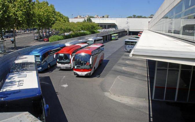 La estación de autobuses de Méndez Álvaro.