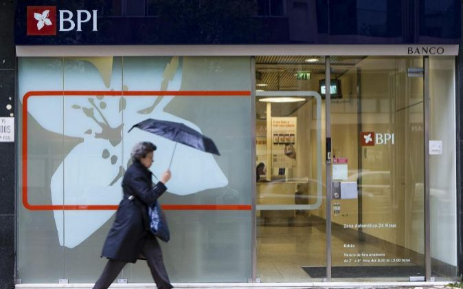 Oficina de BPI, en Lisboa