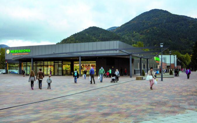 Supermercado de Mercadona en Ripoll.