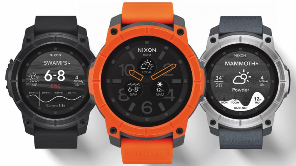 1f9dcdf33 Nixon Mission Smart: el mejor reloj para deportes de acción