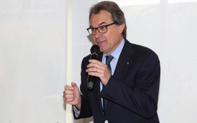 El expresidente de la Generalitat y líder de Convergència, Artur...