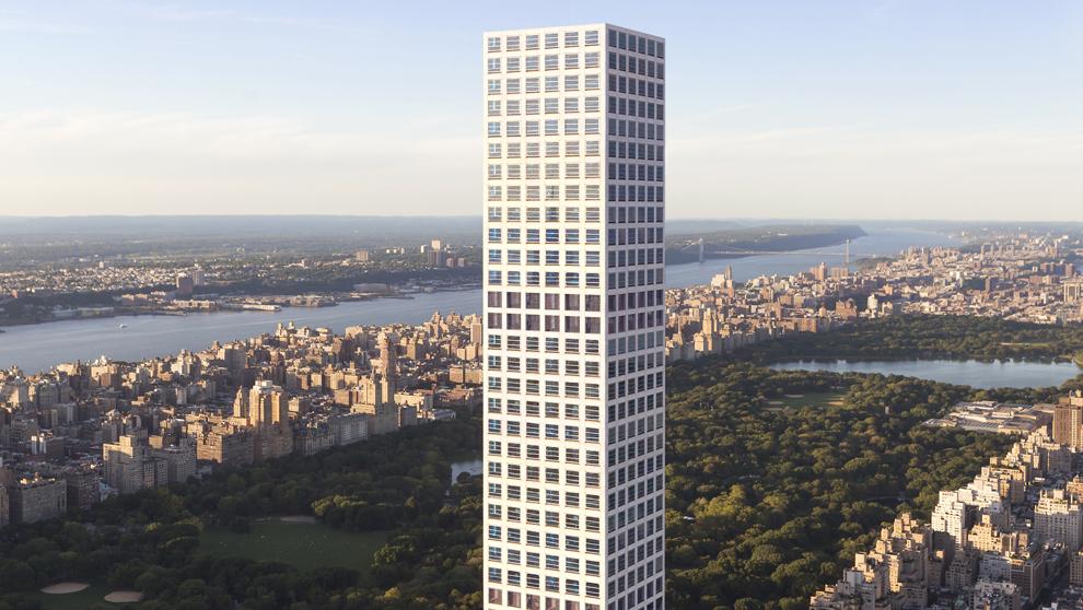 El edificio es el complejo residencial a mayor altura de Estados...