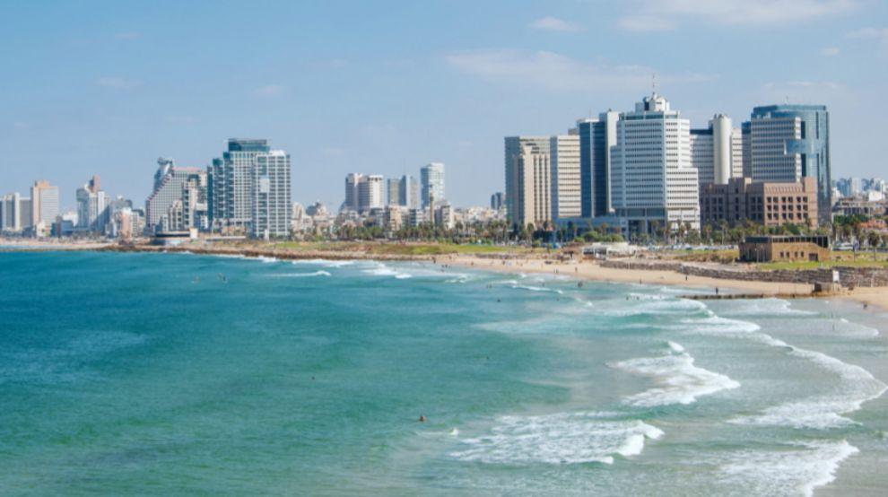 Imagen de Tel Aviv, capital cultural y empresarial de Israel.