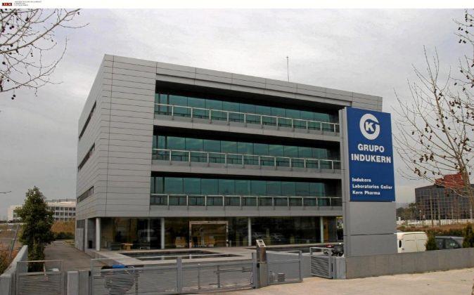 La sede del grupo Indukern.
