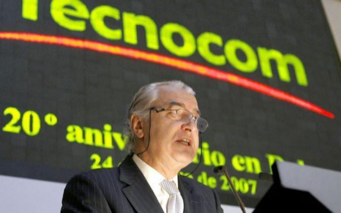 El presidente de Tecnocom, Ladislao Azcona.