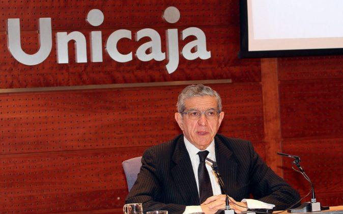 Braulio Medel, presidente de Unicaja