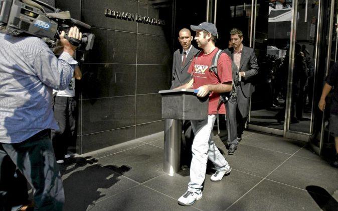 La quiebra de Lehman Brothers, que dejó en la calle a 25.000...
