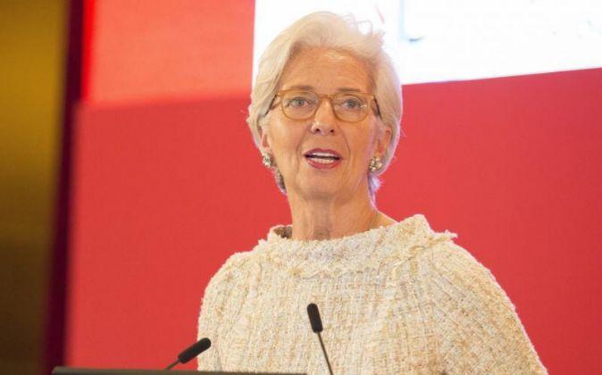 La presidenta del FMI, Christine Lagarde.