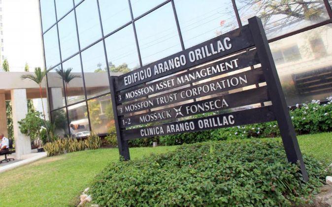 Sede de la firma de abogados Mossack Fonseca en la Ciudad de Panamá...