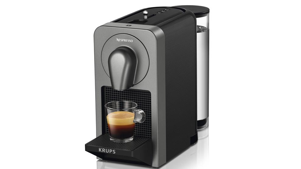 La última cafetera de Nespresso, Prodigio, se controla desde una app.
