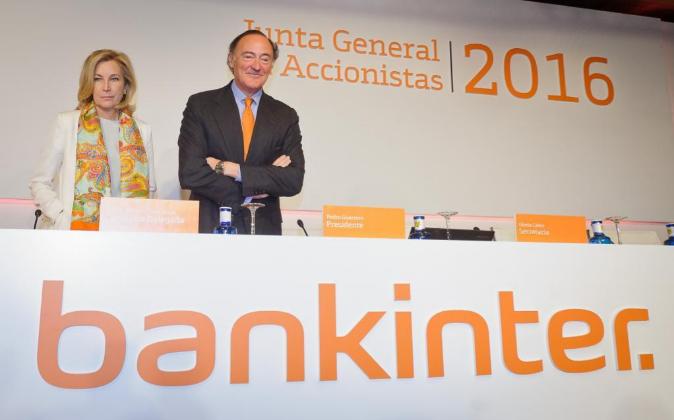 Junta general de accionistas de Bankinter. María Dolores Dancausa,...