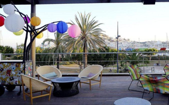 Terraza Heart, en el Ibiza Gran Hotel