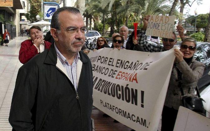 El exdirector general de CAM Roberto López Abad