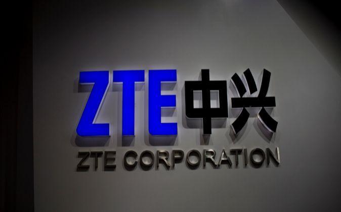 Logo de ZTE.